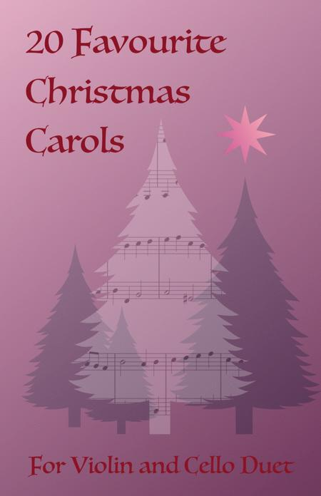 20 Favourite Christmas Carols for Violin and Cello Duet