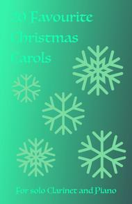 20 Favourite Christmas Carols for solo Clarinet and Piano