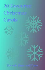 20 Favourite Christmas Carols for solo Flute and Piano