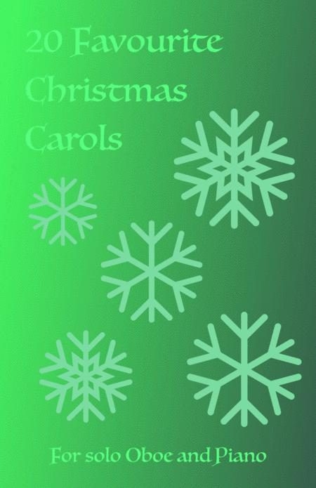 20 Favourite Christmas Carols for solo Oboe and Piano