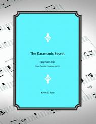 The Karanonic Secret - easy piano solo