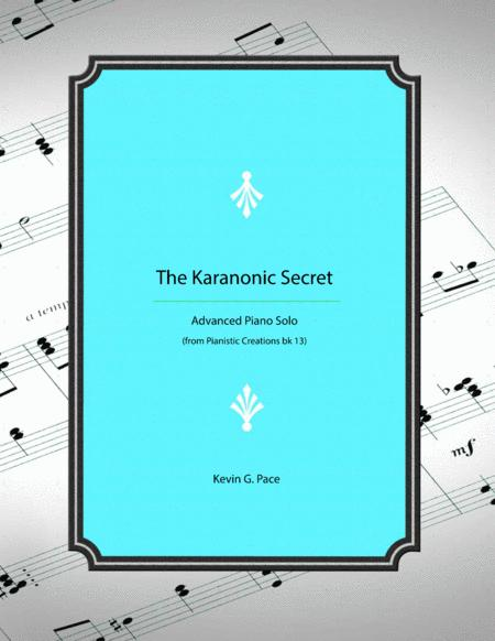 The Karanonic Secret - advanced piano solo