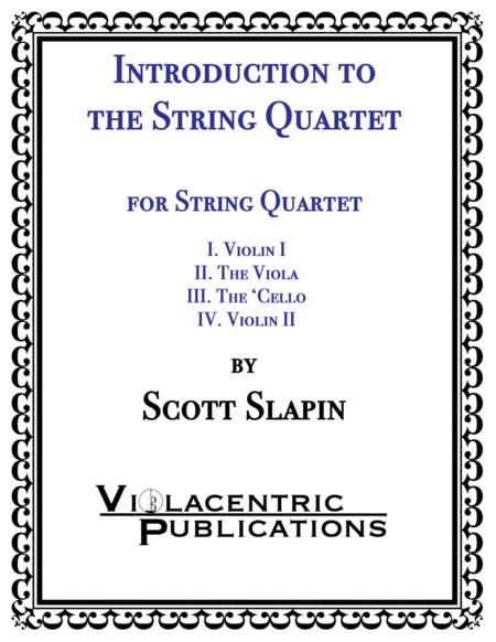 Introduction to the String Quartet