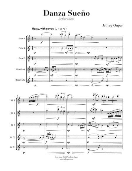 Danza Sueno (Flute Quintet)