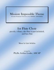 Mission: Impossible Theme for Flute Choir