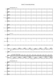 Don't Stop Believin' - 2 Part Voice & Orchestra
