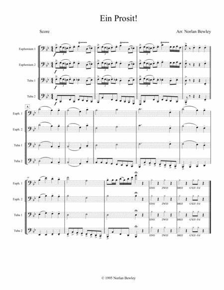 Ein Prosit - Tuba/Euphonium Quartet