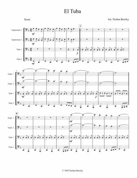 El Tuba - Tuba/Euphonium Quartet