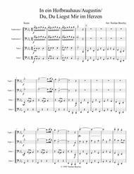 Hofbrau Haus Medley - Tuba/Euphonium Quartet