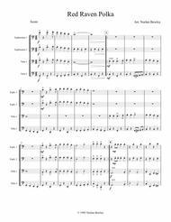 Red Raven Polka - Tuba/Euphonium Quartet