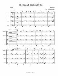 Tritsch Tratsch Polka- Tuba/Euphonium Quartet