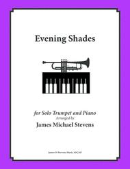 Evening Shades - Solo Trumpet & Piano