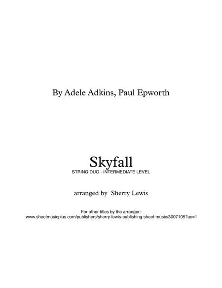 Skyfall  STRING for STRING DUO