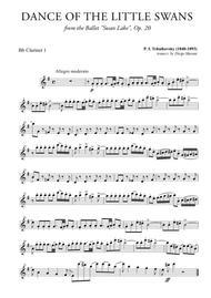Dance of the Little Swans for Clarinet Quartet