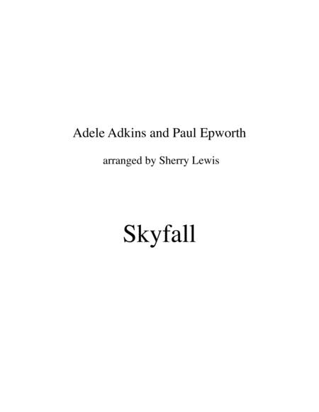 Skyfall for VIOLIN SOLO