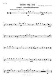 Litte Song Suite for Five Violas - Viola 2