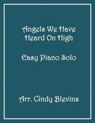 Angels We Have Heard On High, Easy Piano Solo