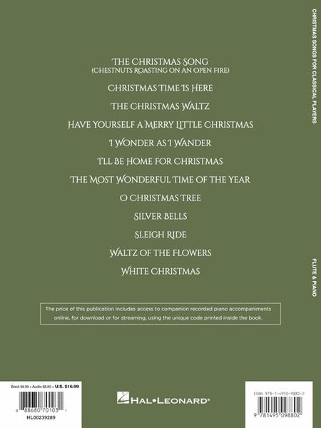 back cover - Unique Christmas Songs