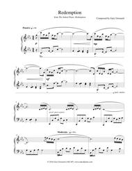"""Redemption"" Solo Piano Sheet Music"