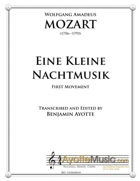 Eine Kleine Nachtmusic, First Movement for String Orchestra