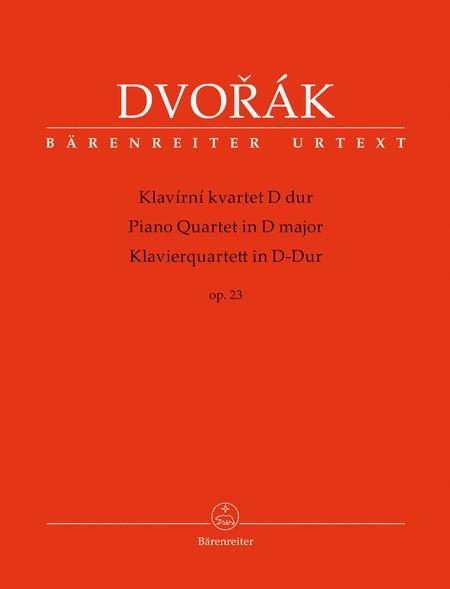 Piano Quartet in D major op. 23
