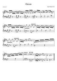 Ocean, Piano