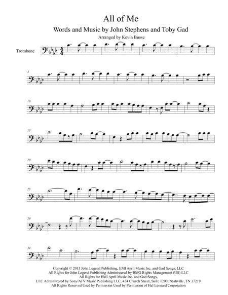 ноты для тромбона скачать бесплатно