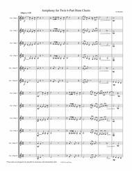 Antiphony for 8-12 part Horn Choir