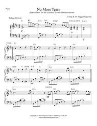 No More Tears (Solo Piano)