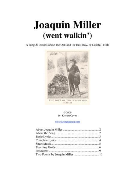 Joaquin Miller (went walkin')