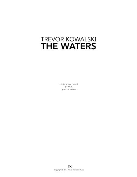 THE WATERS (string quintet, piano, & percussion)