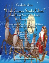 Here Comes Santa Claus (for Clarinet Quartet)