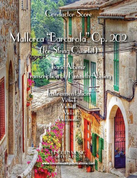 Mallorca – Barcarola (for String Quartet)
