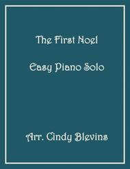 The First Noel, Easy Piano solo