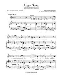 LOGOS Song (2-Part Treble)