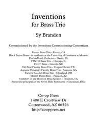 Inventions for Brass Trio