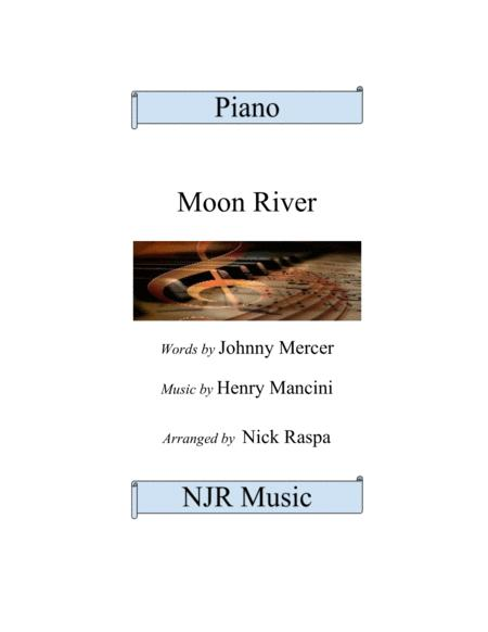 Moon River for advanced intermediate piano