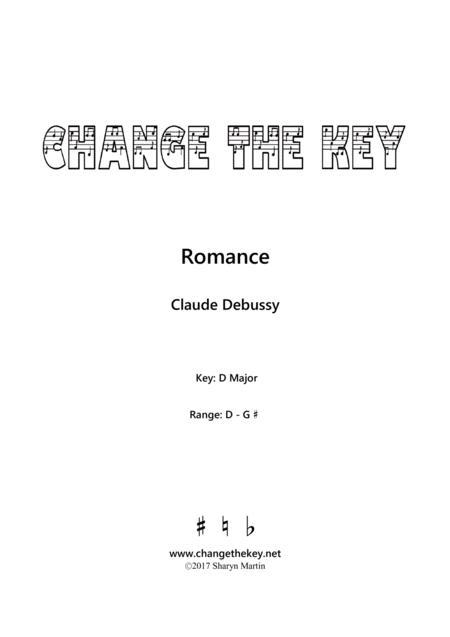 Romance - D Major