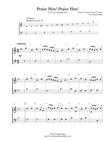 Praise Him! Praise Him! - for 3-octave handbell choir