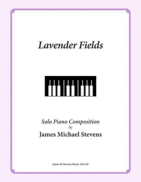 Lavender Fields (Beautiful & Relaxing Piano)