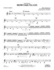 How Far I'll Go (from Moana) - Bb Bass Clarinet