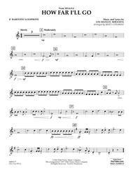 How Far I'll Go (from Moana) - Eb Baritone Saxophone