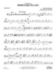 How Far I'll Go (from Moana) - Trombone 1