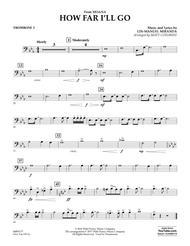 How Far I'll Go (from Moana) - Trombone 2