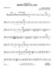 How Far I'll Go (from Moana) - Baritone B.C.