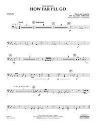 How Far I'll Go (from Moana) - Timpani
