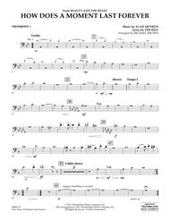 How Does a Moment Last Forever (from Beauty and the Beast) - Trombone 1
