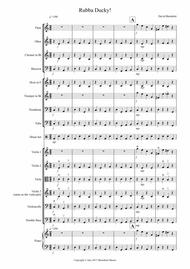 Rubba Ducky! for School Orchestra