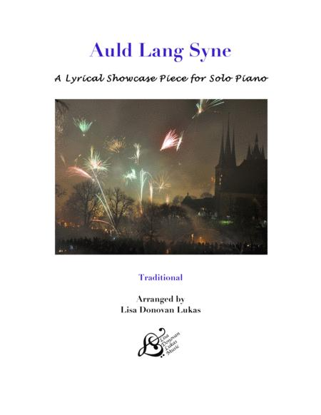 Auld Lang Syne for Solo Piano