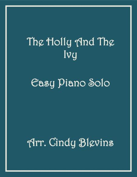 The Holly and the Ivy, Easy Piano Solo